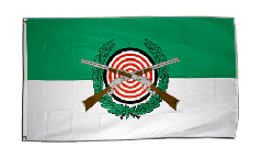 Flagge Schützenfest mit Emblem - 90 x 150 cm