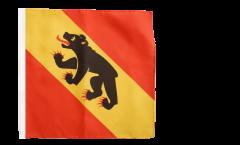 Flagge Schweiz Kanton Bern - 30 x 30 cm