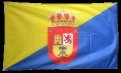 Flagge Spanien Gran Canaria - 90 x 150 cm