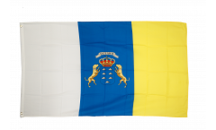 Flagge Spanien Kanaren - 90 x 150 cm