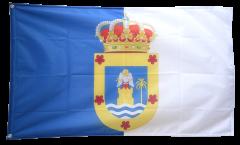 Flagge Spanien La Palma