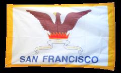 Flagge USA City of San Francisco