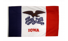 Flagge USA Iowa - 90 x 150 cm