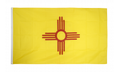 Flagge USA New Mexico