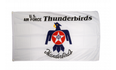 Flagge USA Thunderbirds US Air Force - 90 x 150 cm