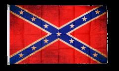 Flagge Vintage Südstaaten