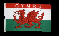 Flagge Wales CYMRU