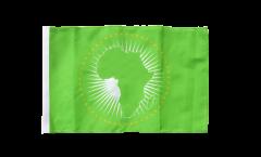 Flagge mit Hohlsaum Afrikanische Union AU
