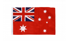 Flagge mit Hohlsaum Australien Red Ensign Handelsflagge