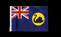 Flagge mit Hohlsaum Australien Western