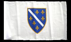 Flagge Bosnien alt 1992-1998 - 30 x 45 cm