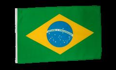 Flagge mit Hohlsaum Brasilien