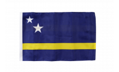 Flagge mit Hohlsaum Curacao