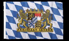 Flagge Deutschland Bayern Freistaat - 30 x 45 cm