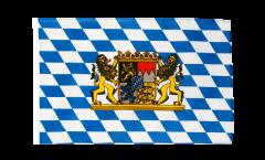Flagge Deutschland Bayern mit Löwe - 30 x 45 cm