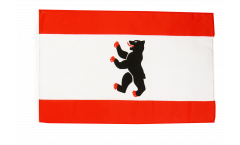 Flagge mit Hohlsaum Deutschland Berlin