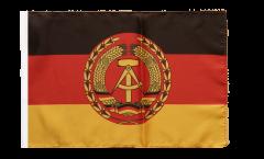 Flagge Deutschland DDR Nationale Volksarmee NVA - 30 x 45 cm