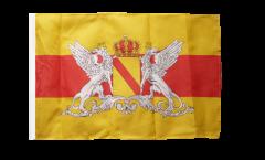Flagge mit Hohlsaum Deutschland Großherzogtum Baden 2