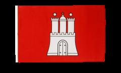 Flagge Deutschland Hamburg - 30 x 45 cm