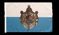 Flagge mit Hohlsaum Deutschland Königreich Bayern 1806-1918