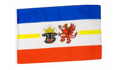 Flagge Deutschland Mecklenburg-Vorpommern - 30 x 45 cm