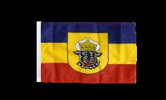 Flagge Deutschland Mecklenburg alt - 30 x 45 cm