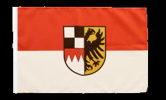 Flagge mit Hohlsaum Deutschland Mittelfranken
