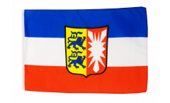 Flagge Deutschland Schleswig-Holstein - 30 x 45 cm