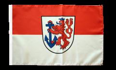 Flagge mit Hohlsaum Deutschland Stadt Düsseldorf