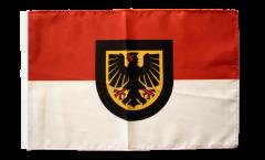Flagge Deutschland Stadt Dortmund - 30 x 45 cm