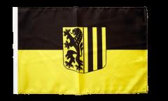 Flagge Deutschland Stadt Dresden - 30 x 45 cm