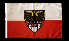 Flagge mit Hohlsaum Deutschland Stadt Duisburg
