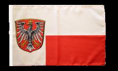 Flagge mit Hohlsaum Deutschland Stadt Frankfurt