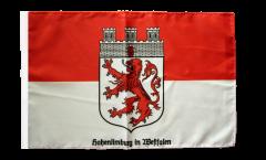 Flagge mit Hohlsaum Deutschland Stadt Hohenlimburg