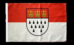 Flagge Deutschland Stadt Köln - 30 x 45 cm