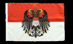 Flagge Deutschland Stadt Köln mit großem Wappen - 30 x 45 cm