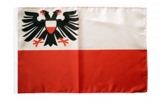 Flagge Deutschland Stadt Lübeck - 30 x 45 cm