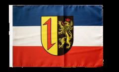 Flagge mit Hohlsaum Deutschland Stadt Mannheim