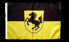 Flagge mit Hohlsaum Deutschland Stadt Stuttgart