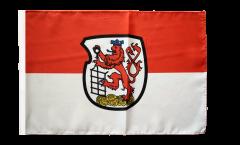 Flagge Deutschland Stadt Wuppertal - 30 x 45 cm