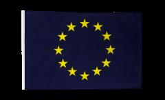Flagge mit Hohlsaum Europäische Union EU
