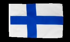 Flagge mit Hohlsaum Finnland