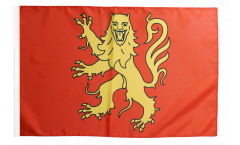 Flagge mit Hohlsaum Frankreich Aveyron