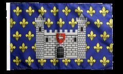 Flagge mit Hohlsaum Frankreich Carcassonne
