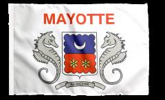 Flagge mit Hohlsaum Frankreich Mayotte