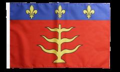 Flagge mit Hohlsaum Frankreich Montauban