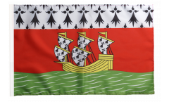 Flagge mit Hohlsaum Frankreich Nantes
