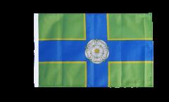 Flagge mit Hohlsaum Großbritannien Yorkshire North Riding