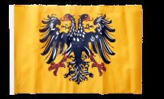 Flagge mit Hohlsaum Heiliges Römisches Reich Deutscher Nation nach 1400