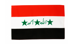 Flagge mit Hohlsaum Irak alt 1991-2004